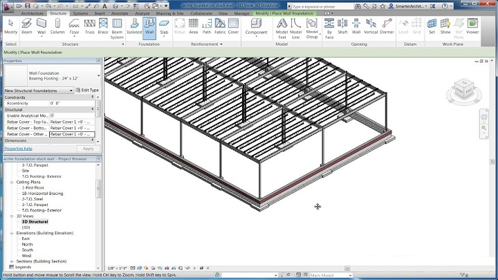 webinar revit fundatii